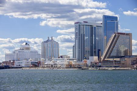 The Showboat, Taj Mahal and Resorts Casino in Atlantic City