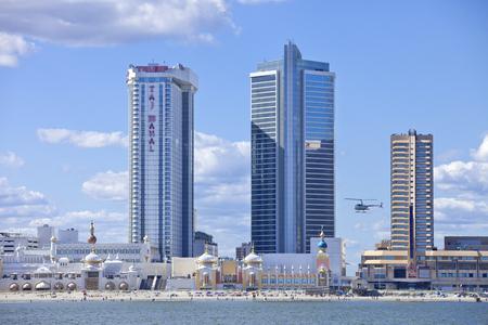 The Showboat and Taj Mahal Casino in Atlantic City