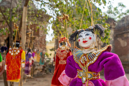 Traditional puppets of Myanmar