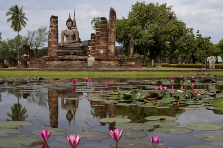 Sukhothai historical park Stock Photo - 10604172