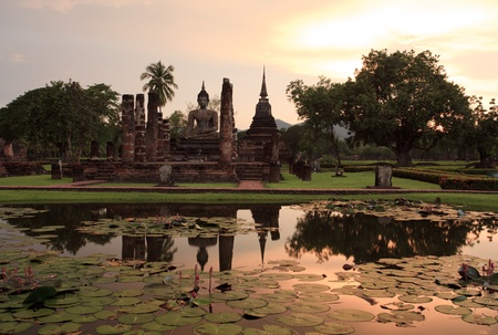 Sukhothai historical park photo