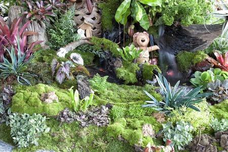 Small garden for small home photo