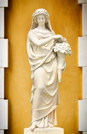 toga: Statua della Grecia e di Roma le donne Archivio Fotografico