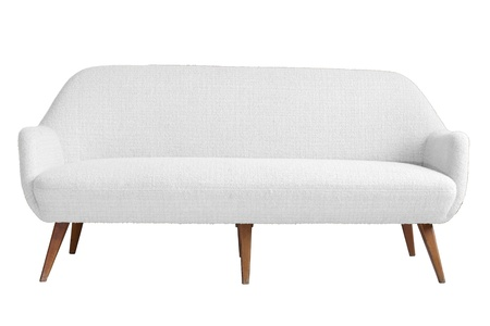 modern sofa: Modern armchair with isolated white color backgraound and cut out part for your art work and easy to use.