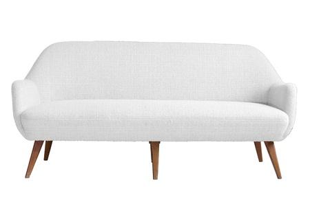 Moderne fauteuil met geïsoleerde witte kleur backgraound en snijd een deel voor uw kunstwerk en gemakkelijk te gebruiken. Stockfoto
