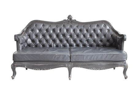 include: Luxurious sofa isolated on white background , with cut out part save include in to picture, for easy to use.