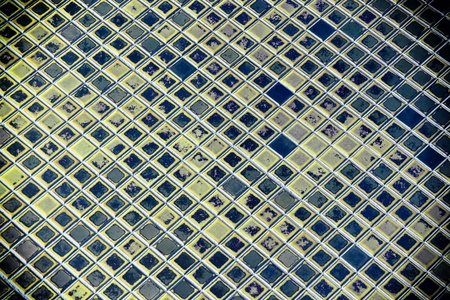 Ancient blue tile texture from out door of temple in Thailand. Stock Photo - 13933685