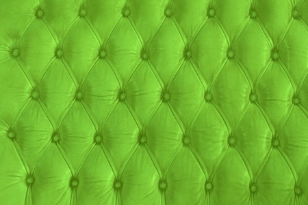 leather texture ane background with green color.  photo