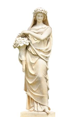 toga: Estatua de la mujer en Grecia y Roma con aislar de nuevo suelo