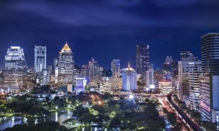 bangkok city: Lumpinee park, Bangkok, Thailand