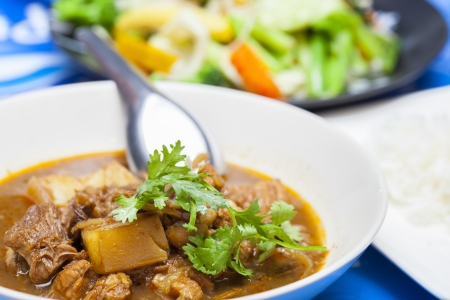 Hunglei curry, Chiang Mai food, Thailand photo
