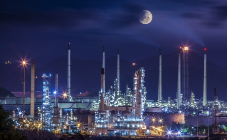 pollutant: Refinery industrial plant
