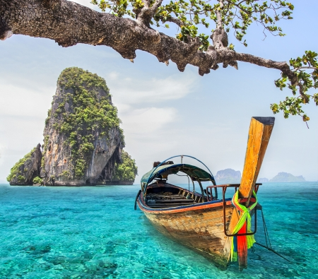krabi: Railay beach in Krabi Thailand Archivio Fotografico