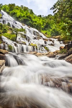 Mae Ya waterfall in Doi Inthanon national park, Chiang Mai, Thailand
