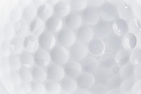 Nahaufnahme von einem Golfball Textur, die durch Makro Reife und spezielle Rohr Standard-Bild - 31357707