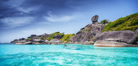 similan islands: Tropical beach, Similan Islands, Andaman Sea, Thailand