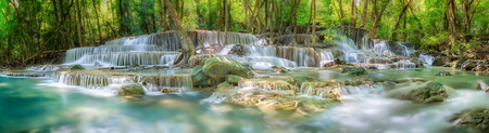 kamin: Waterfall in Thailand Stock Photo