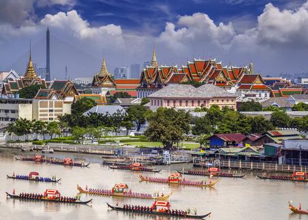 rey: Paisaje de Bangkok, Tailandia Foto de archivo