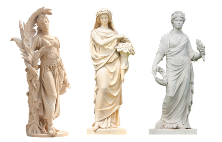 天使像の分離