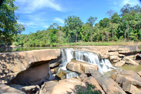 kaeng: Kaeng Sopha Waterfall,Wang Thong District,Phitsanulok Province,Thailand Stock Photo