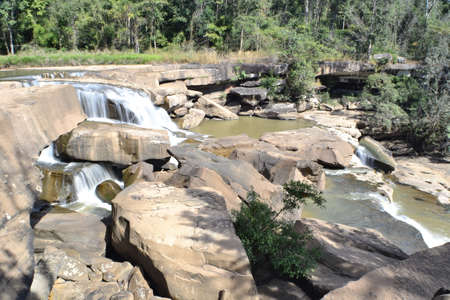 kaeng: Kaeng Sopha Waterfall,Wang Thong District,Phitsanulok Province,Thailand.