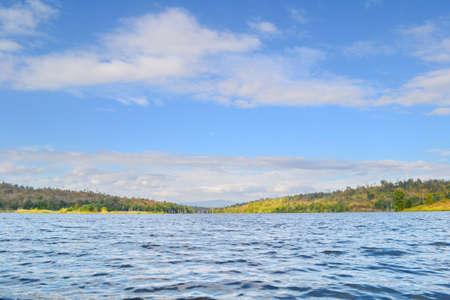 Scene of Jet-Kot reservoir.Nakornthai District,Phitsanulok Province,Thailand. Stock Photo