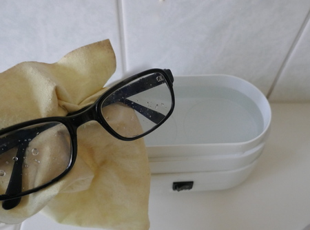 Professional eyeglass cleaning, jewelry cleaning, electric ultrasonic cleaner for the home