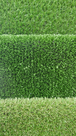 Artificial turf, lawn carpet, flooring, water-permeable, green and easy-care, 免版税图像