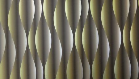 Wave pattern, spiral pattern. abstract. Modern futuristic background, olive-green, with light and shadow effect