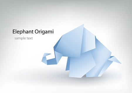 toy elephant: origami for your designs