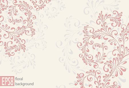 Floral Pattern Stock Vector - 9842097