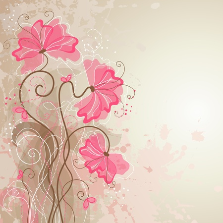 floral background Stock Vector - 9842118