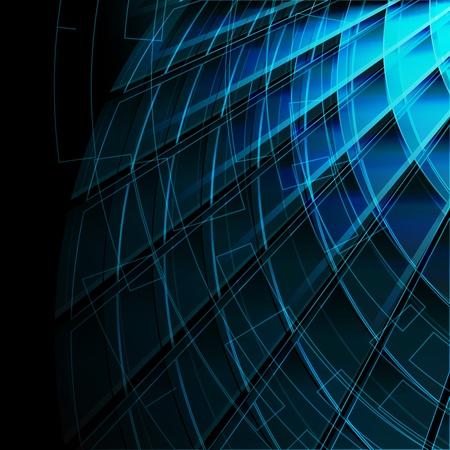 Blau stilvollen Fantasy-Hintergrund
