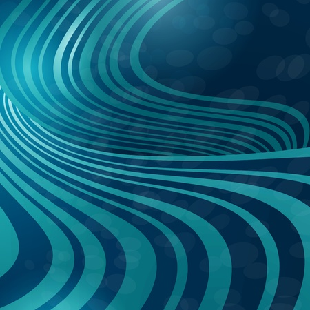 background with waves of light Vector