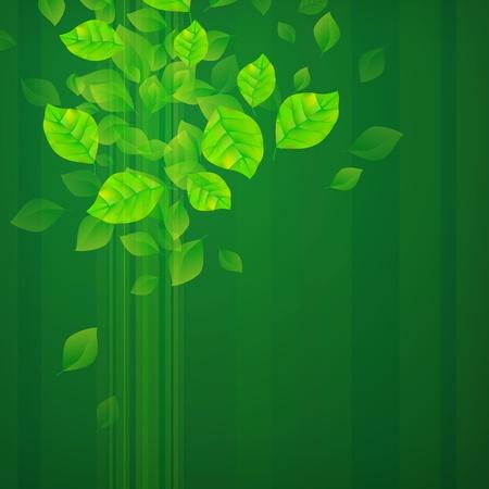 green environment: Fresh Green Background Illustration