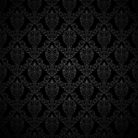 black silk: Seamless background for retro design