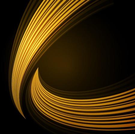 Hintergrund mit Wellen von Licht