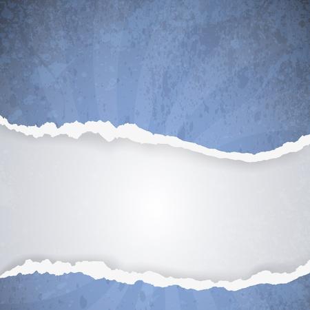dark gray line: papel rasgado - resumen de antecedentes Vectores