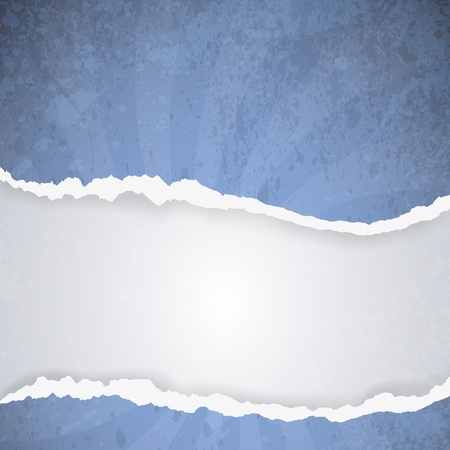 ripped paper - abstract background Vector