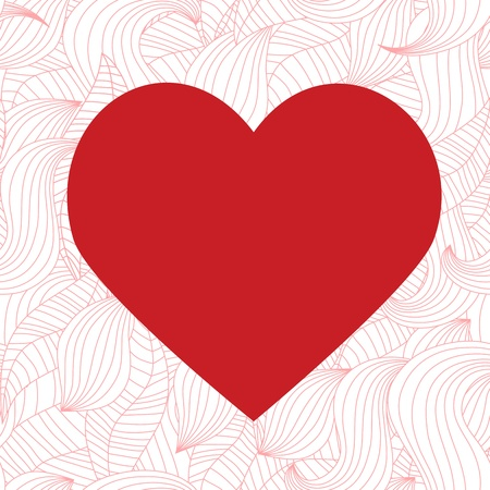 Seamless valentine pattern Stock Vector - 10495807