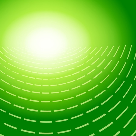 patch of light: green abstract background