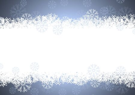 blizzard: snowflakes background for winter and christmas theme Illustration