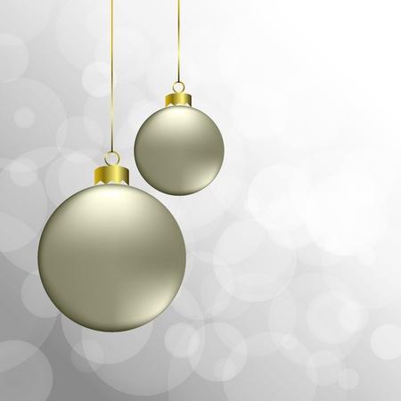 bauble:  christmas background  Illustration