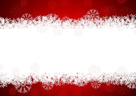 Schneeflocken Hintergrund f�r Winter-und Weihnachts-Thema