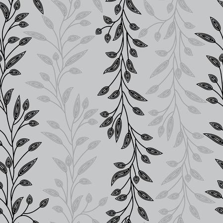 leafs: Seamless sfondo per il design retr� Vettoriali