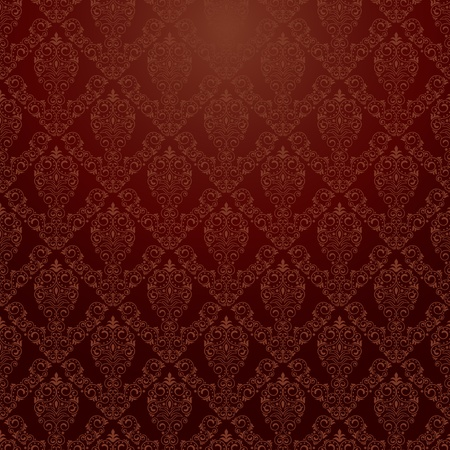 Seamless background for retro design
