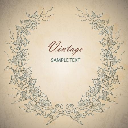 vintage vector    Vector