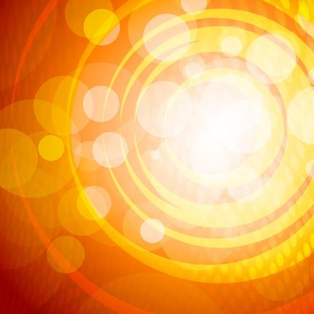 orange swirl: background Illustration