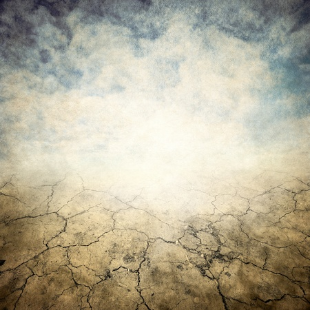 blank canvas: grunge background with space for text Stock Photo