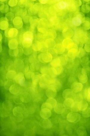 blur, green background, circles of light